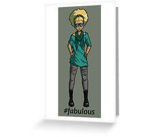 #fabulous Greeting Card