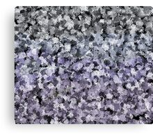 lost in the night flowers Canvas Print