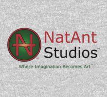 NatAnt Studios' NA Logo and slogan T-Shirt