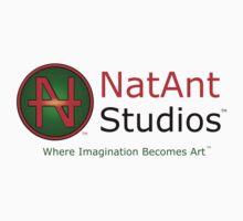 NatAnt Studios' NA Logo and slogan Kids Tee