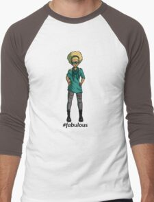 #fabulous Men's Baseball ¾ T-Shirt