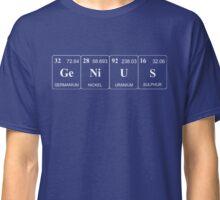 Elemental Genius - Light Lettering Classic T-Shirt