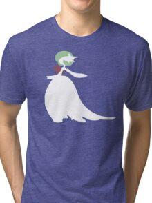 Mega-Gardevoir Minimalist Tri-blend T-Shirt