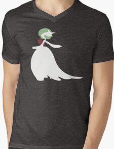Mega-Gardevoir Minimalist Mens V-Neck T-Shirt