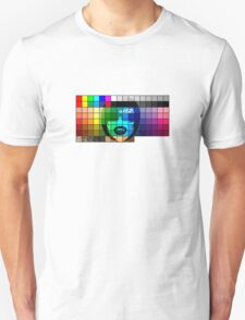 Color Grid T Shirt Fangpunk T-Shirt