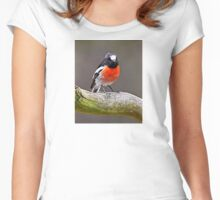 Scarlet Robin Women's Fitted Scoop T-Shirt
