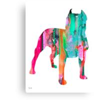 Pit Bull 3 Canvas Print