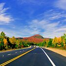 Highway 125, Quebec, Canada 2014 by Elfriede Fulda