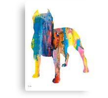 Pit Bull 4 Canvas Print