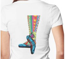 Happy Ballet II Womens Fitted T-Shirt