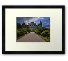 Night At the  Castle - Scotland Framed Print