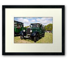 1930s Morris Commercial Van  Framed Print