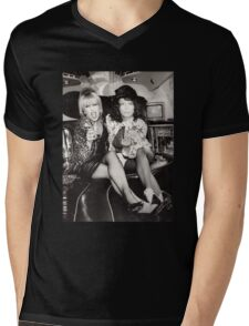 Patsy and Eddie Sweetie Darling Mens V-Neck T-Shirt