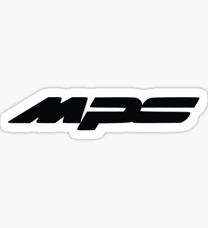 Mazda MPS Logo Sticker