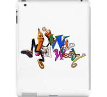 Wild Woody - SEGA CD Title Screen iPad Case/Skin