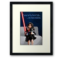 Sci Fi Girl Gone Bad Framed Print