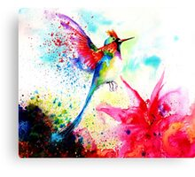 """Hummingbid"" Canvas Print"