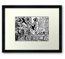 "Hands of ""faith"" Framed Print"
