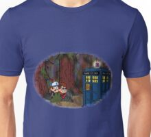A TARDIS at Gravity Falls Unisex T-Shirt