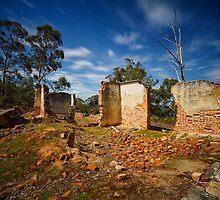 Saltwater River Coal Mine at Night, Tasmania #6 by Chris Cobern