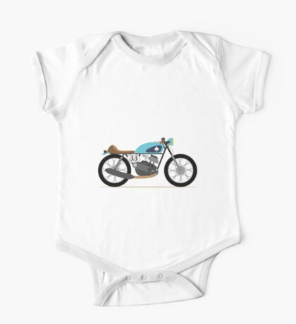 Vintage motorcycle, Café Racer One Piece - Short Sleeve
