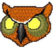 Hotline Miami rasmus owl mask by spiceboy