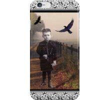 Little Ghost Boy Collage iPhone Case/Skin
