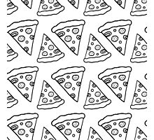 Ink Pizza Photographic Print