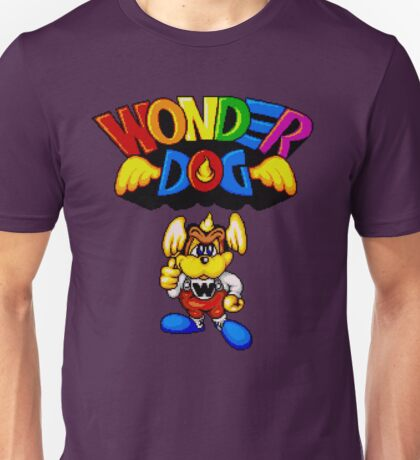 Wonder Dog - SEGA CD Title Screen Unisex T-Shirt