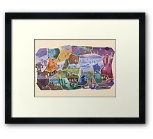 FFVI Fresco Part1 - Available until October the 16th!! Framed Print