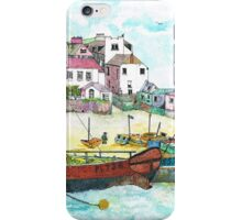 St Ives Harbour England iPhone Case/Skin