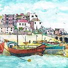 St Ives Harbour England by doatley