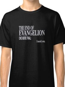 The End of Evangelion Classic T-Shirt
