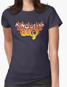 King of the BBQ Womens Fitted T-Shirt
