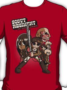 Scout Regiment Vs. The Titans T-Shirt