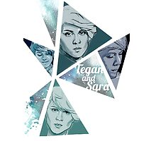Tegan and Sara Triangular by mygeishastuff