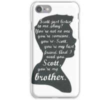 Stiles Quotes- Number One in a Series iPhone Case/Skin