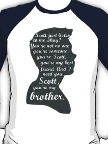 Stiles Quotes- Number One in a Series T-Shirt