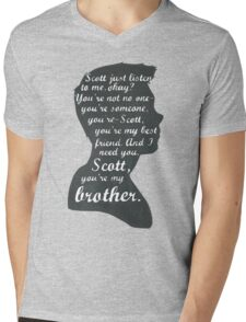 Stiles Quotes- Number One in a Series Mens V-Neck T-Shirt