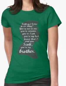Stiles Quotes- Number One in a Series Womens Fitted T-Shirt