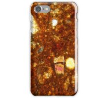 Thin section of a brick under the microscope iPhone Case/Skin