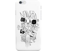 Follow the Rabbit iPhone Case/Skin