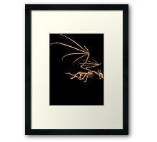 Flying Bone Dragon T Shirt Framed Print