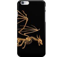Flying Bone Dragon T Shirt iPhone Case/Skin