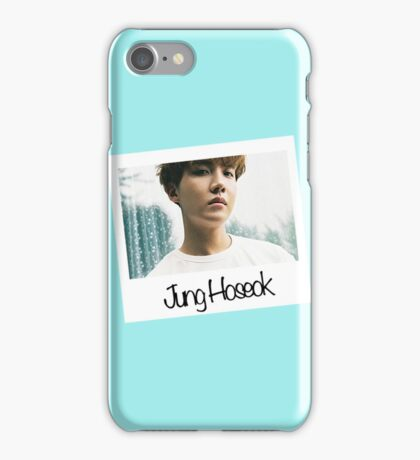 J-hope Polaroid (Blue)- BTS iPhone Case/Skin