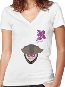 Revenge Society Women's Fitted V-Neck T-Shirt