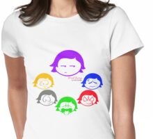 Mood Swings _ Angsty Colors Womens Fitted T-Shirt