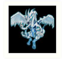 Yu-Gi-Oh! 5DS - Stardust Dragon Art Print