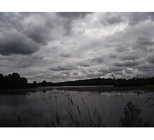 Clouds on the Lake Photographic Print