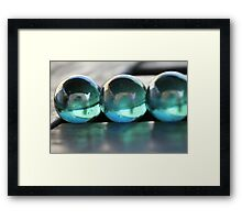 Studies in Glass ....marbles Framed Print